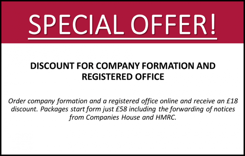 formation and address offer