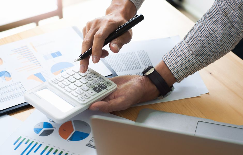 Accountant checking accounting reference date