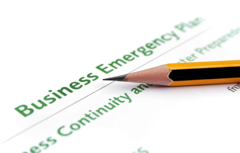 Written Business emergency plan